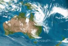 Cyclone Yasi Satellite Picture